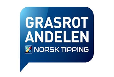 Grasrotandelen - logo fra Norsk Tipping